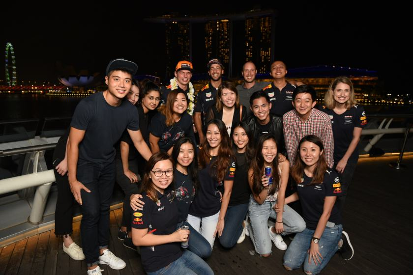 Ng Lay Peng with Red Bull Singapore- Bask Communications