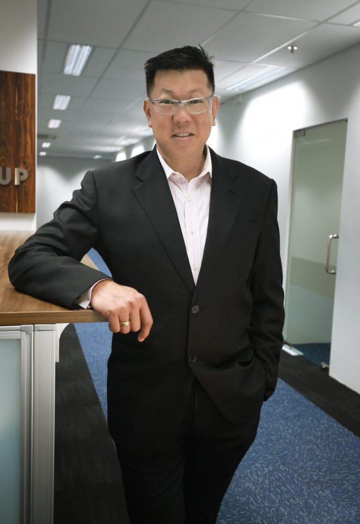 COO of X-mini, Keith Wong